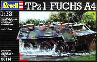 レベル1/72 ミリタリーTPz1 フックス A4