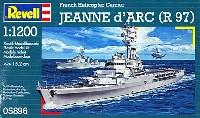 レベル1/1200 艦船キットヘリ空母 ジャンヌ ダルク (R97)