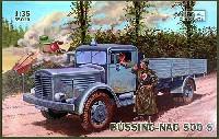IBG1/35 AFVモデルドイツ ビューシング NAG500S 4.5トン 大型トラック 後輪駆動型