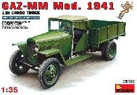 ミニアート1/35 WW2 ミリタリーミニチュアGAZ-MM Mod.1941 1.5トン カーゴトラック