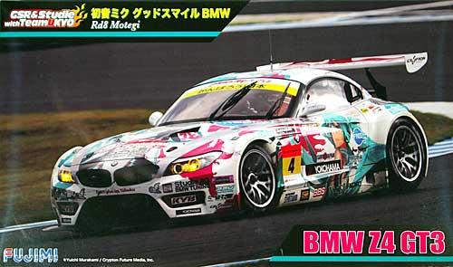 初音ミク × GSR BMW Rd8 Motegi BMW Z4 GT3 (実車パッケージ)(初回限定:クリアファイル付)プラモデル(フジミRacing ミク シリーズNo.189857)商品画像