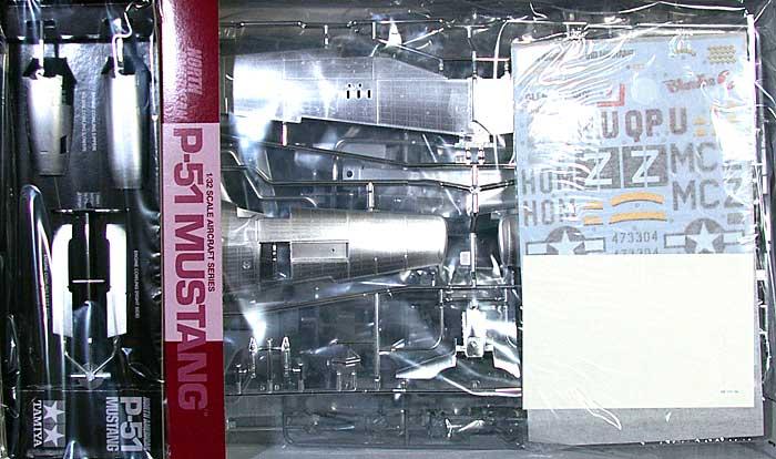 ノースアメリカン P-51D マスタング シルバーフィニッシュプラモデル(タミヤ1/32 エアークラフトシリーズNo.25151)商品画像_1