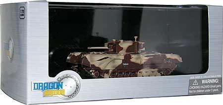 イギリス チャーチル歩兵戦車 Mk.3 キングフォース エル・アラメイン 1942完成品(ドラゴン1/72 ドラゴンアーマーシリーズNo.60592)商品画像