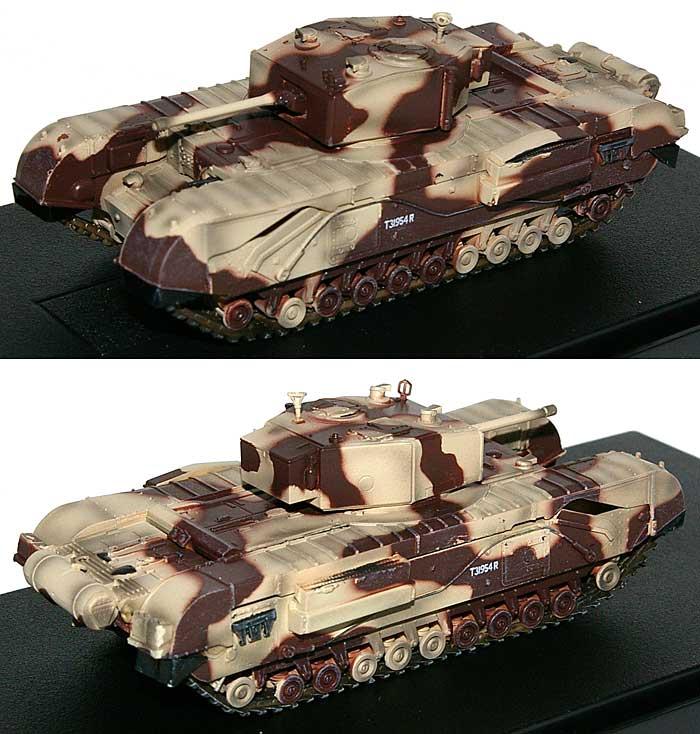 イギリス チャーチル歩兵戦車 Mk.3 キングフォース エル・アラメイン 1942完成品(ドラゴン1/72 ドラゴンアーマーシリーズNo.60592)商品画像_1