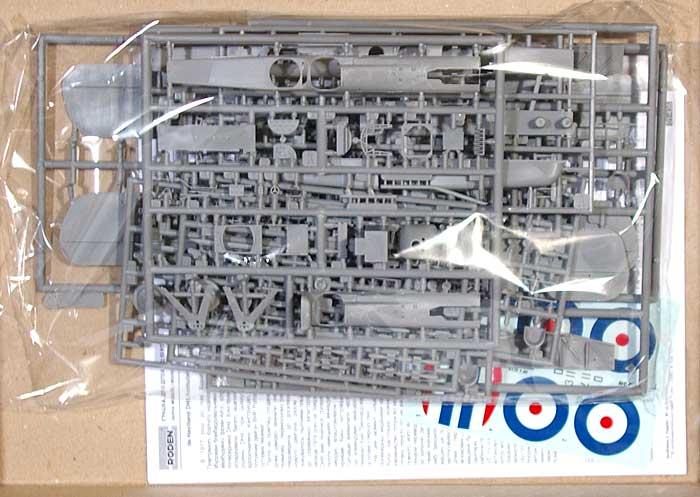 デ・ハビランド DH9 救護用搬送複葉単発機プラモデル(ローデン1/48 エアクラフト プラモデルNo.436)商品画像_1
