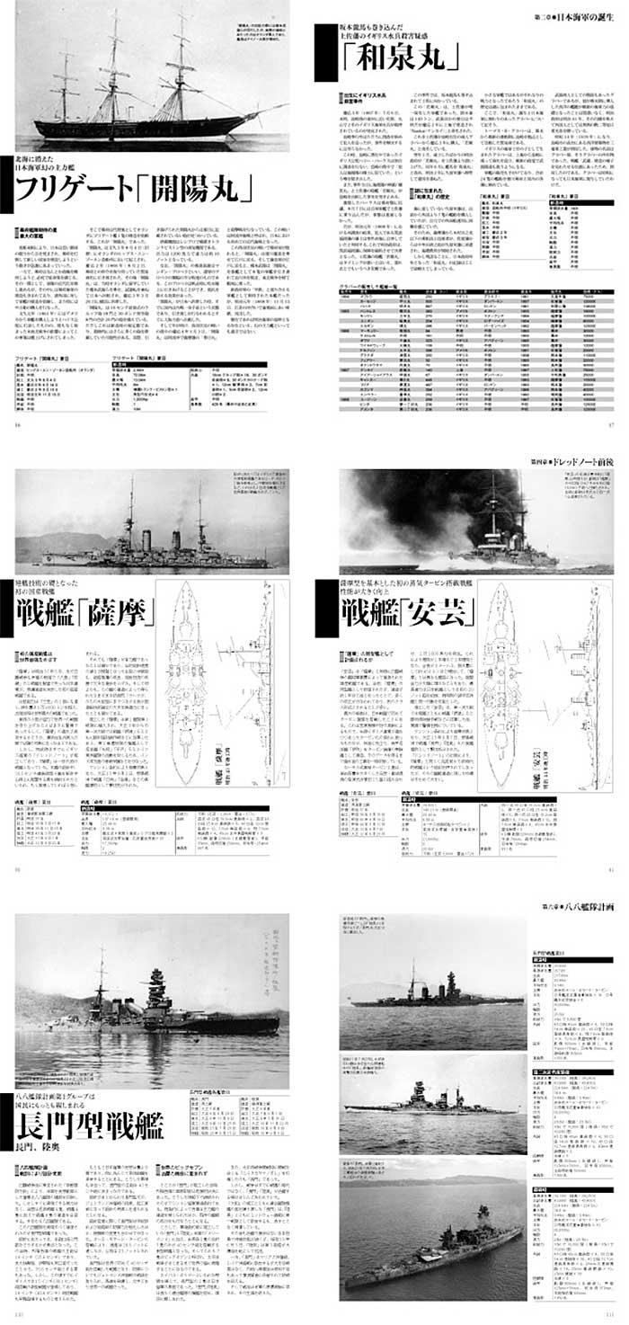 日本海軍の戦艦 主力戦艦の系譜 1968-1945本(大日本絵画船舶関連書籍No.23082)商品画像_1