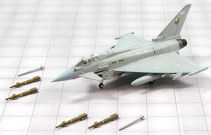 イギリス空軍 多用途戦闘機 タイフーン FGR.4 第3飛行隊完成品(ピットロードコンプリート エアクラフト シリーズ (塗装済み完成品)No.SNM-007)商品画像_1