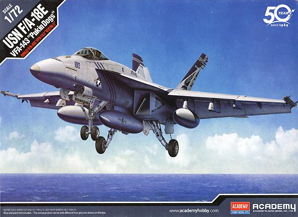 USN F/A-18E スーパーホーネット VF-143 ピューキン ドッグスプラモデル(アカデミー1/72 AircraftsNo.12547)商品画像