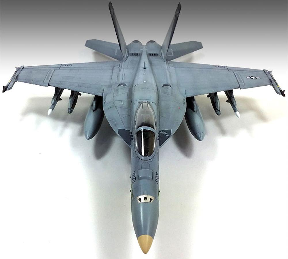 USN F/A-18E スーパーホーネット VF-143 ピューキン ドッグスプラモデル(アカデミー1/72 AircraftsNo.12547)商品画像_4