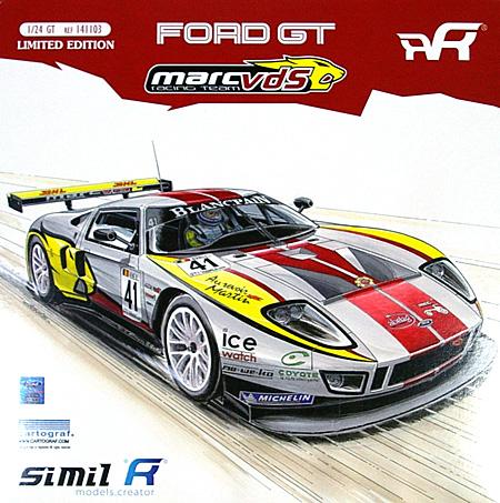 フォード GT GT1 MARC VDS Racing Team (#41 FIA GT 2011)プラモデル(Simil R1/24 カーモデルNo.REF141103)商品画像
