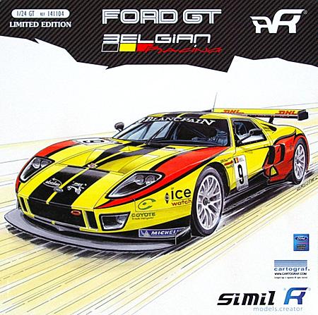 フォード GT GT1 BELGIAN RACING (#9 FIA GT 2011)プラモデル(Simil R1/24 カーモデルNo.REF141104)商品画像