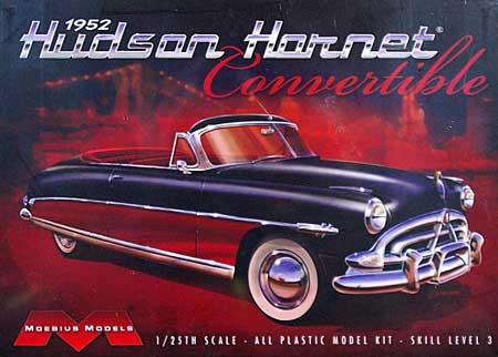 1952 ハドソン ホーネット コンバーチブルプラモデル(メビウスメビウス プラスチックモデル組立キットNo.1204)商品画像