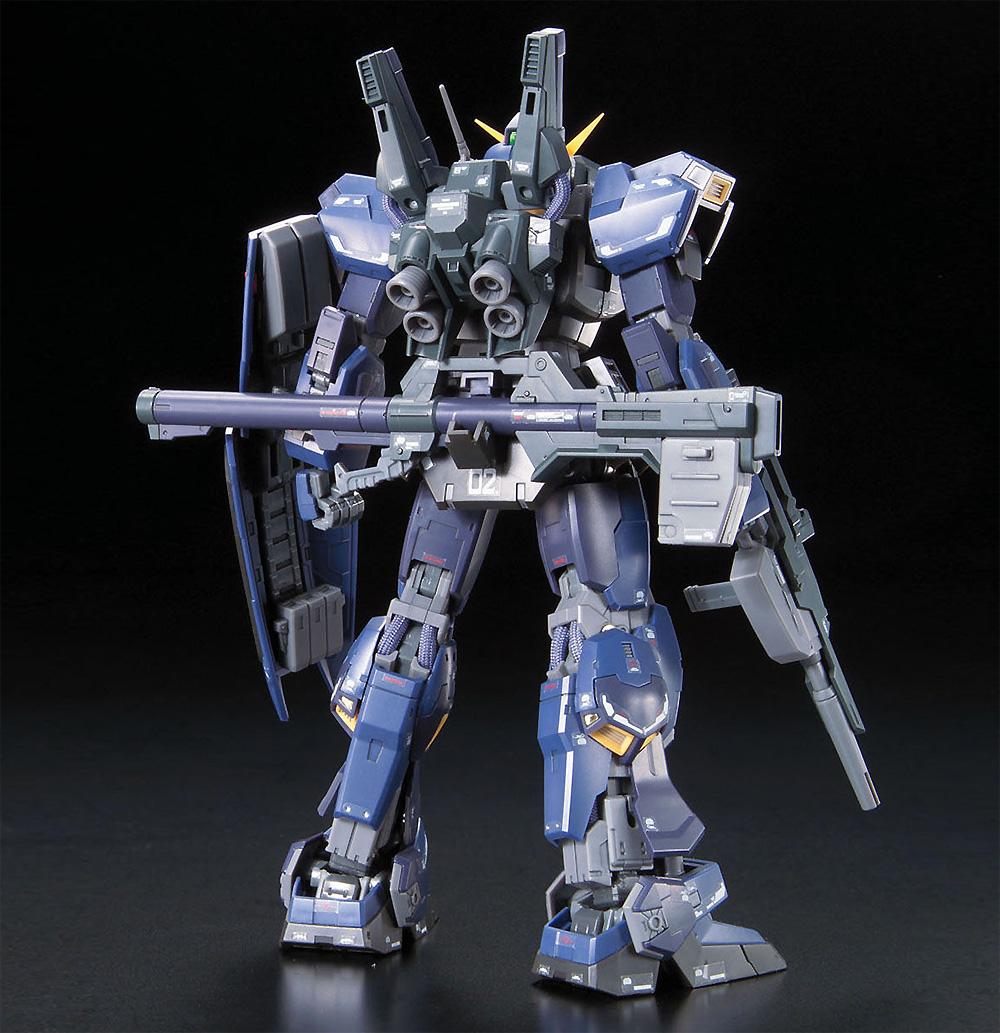 RX-178 ガンダム Mk.2 ティターンズ仕様プラモデル(バンダイRG (リアルグレード)No.007)商品画像_3