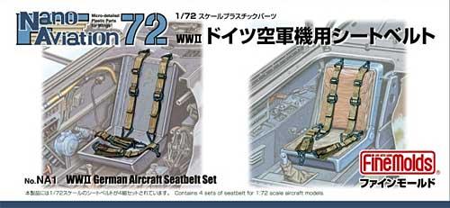 WW2 ドイツ空軍機用シートベルト (1/72スケール)プラモデル(ファインモールドナノ・アヴィエーション 72No.NA001)商品画像