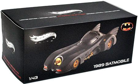1989 バットモービルミニカー(マテルHot Wheels ELITENo.MT5494X)商品画像