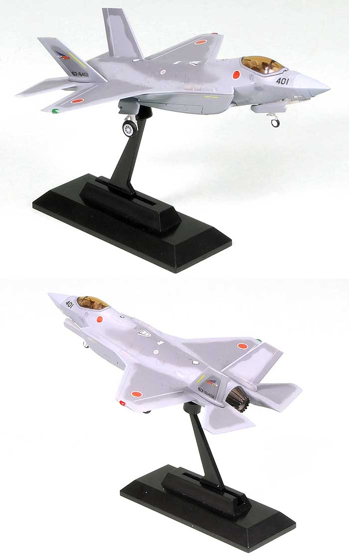 航空自衛隊 F-35J ライトニング 2完成品(ピットロードコンプリート エアクラフト シリーズ (塗装済み完成品)No.SNM-010)商品画像_3