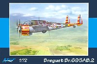 アズール1/72 航空機モデルブレゲー Br695AB.2 双発複座攻撃機