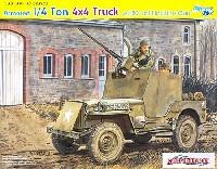 サイバーホビー1/35 AFV シリーズ ('39~'45 シリーズ)アメリカ陸軍 1/4トン 4×4 小型装甲車 w/キャリバー50