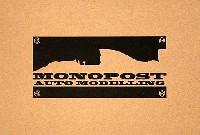 モノポスト1/20 オリジナルレジンキットメルセデス MGP W01 イギリスGP仕様
