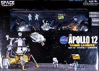 アポロ12号 CSM + 月着陸船 + サーベイヤー3号 w/月面ベース