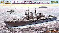 サイバーホビー1/700 Modern Sea Power Seriesイギリス海軍 航空母艦 インヴィンシブル フォークランド紛争30周年記念