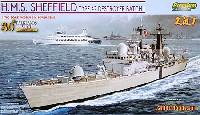 サイバーホビー1/700 Modern Sea Power Seriesイギリス海軍 42型駆逐艦 シェフィールド (バッチI) フォークランド紛争30周年記念