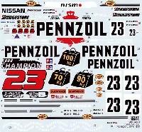 タブデザイン1/24 デカールニッサン スカイライン GT-R (R33) PENNZOIL JGTC 1998