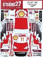 スタジオ27ラリーカー オリジナルデカールシトロエン C4 #11 日本 2010