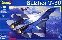 レベル1/72 飛行機スホーイ T50