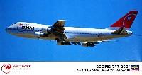 ハセガワ1/200 飛行機 限定生産ノースウエスト航空 ボーイング 747-200