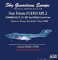 ウイッティ・ウイングス1/72 スカイ ガーディアン シリーズ (現用機)シービクセン F(AW) Mk.2 イギリス海軍 No892 Sqd XN694 #305 ヨービルトン Simon's Sircus Aerobatic Team 1968