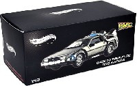 マテル Hot Wheels ELITE デロリアン DMC-12 (Back to the future)