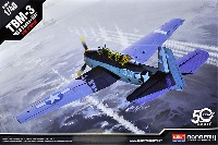 アカデミー1/48 Scale AircraftsTBM-3 アベンジャー USS バンカー ヒル