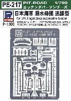 ピットロード1/700 エッチングパーツシリーズ日本海軍 潜水母艦 迅鯨型用 エッチングパーツ