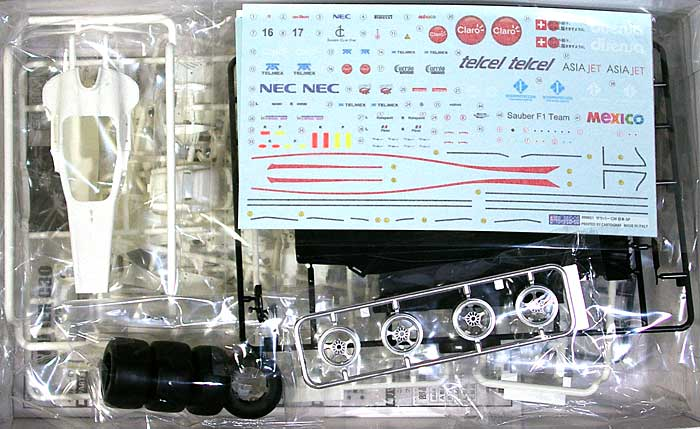 ザウバー C30 日本GPプラモデル(フジミ1/20 GPシリーズNo.旧GP037)商品画像_1