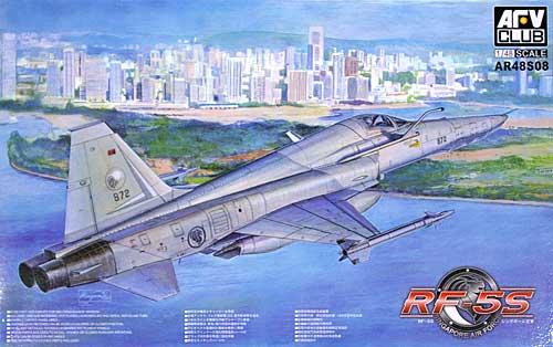 RF-5S タイガー 2 シンガポール空軍プラモデル(AFV CLUB1/48 エアクラフト プラモデルNo.AR48S08)商品画像