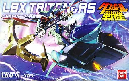 LBX トリトーン & RS (ライディングソーサ)プラモデル(バンダイダンボール戦機No.0175330)商品画像