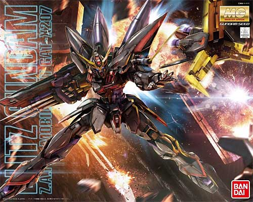 GAT-X207 ブリッツガンダムプラモデル(バンダイMG (マスターグレード)No.0175702)商品画像