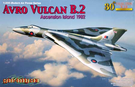 アブロ バルカン B.2 ブラックバック作戦 (フォークランド紛争30周年)プラモデル(サイバーホビー1/200 Modern Air Power SeriesNo.2016)商品画像