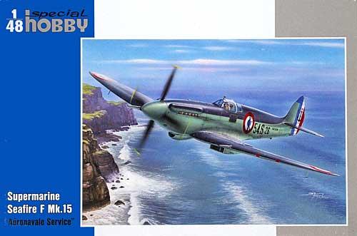 スーパーマリン シーファイア F Mk.15 フランス海軍プラモデル(スペシャルホビー1/48 エアクラフト プラモデルNo.SH48125)商品画像