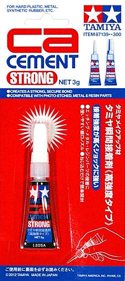 タミヤ 瞬間接着剤 (高強度タイプ)瞬間接着剤(タミヤメイクアップ材No.87139)商品画像
