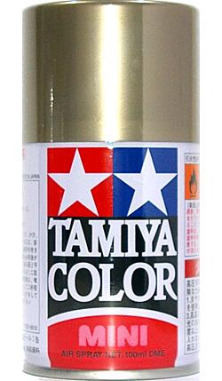 TS-87 チタンゴールドスプレー塗料(タミヤタミヤカラー スプレーNo.TS-087)商品画像