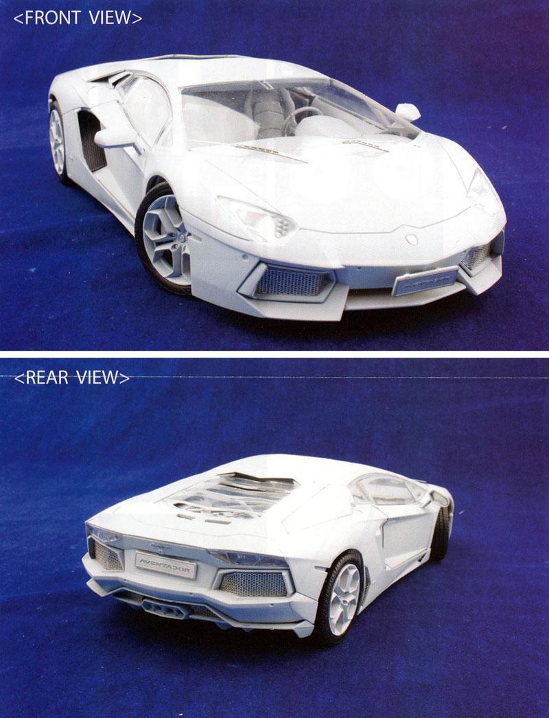 ランボルギーニ アヴェンタドール LP700-4 共通ディテールアップパーツエッチング(アオシマ1/24 スーパーカー エッチングパーツNo.002)商品画像_2