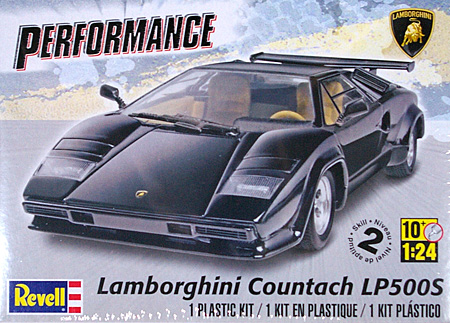 ランボルギーニ カウンタック LP500Sプラモデル(レベルカーモデルNo.85-4948)商品画像