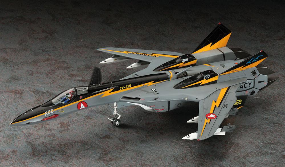 VF-19A SVF-569 ライトニングス w/ハイマニューバミサイルプラモデル(ハセガワ1/72 マクロスシリーズNo.65799)商品画像_2