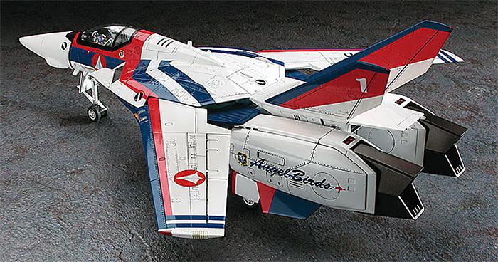VF-1A バルキリー エンジェルバーズプラモデル(ハセガワマクロスシリーズNo.65798)商品画像_3