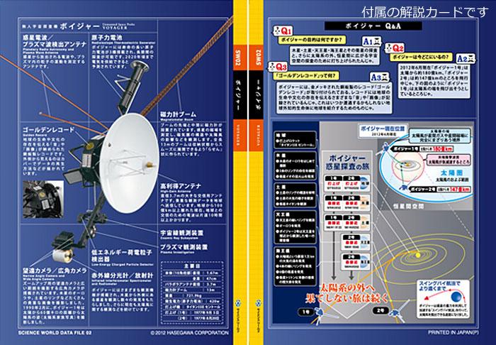 無人宇宙探査機 ボイジャープラモデル(ハセガワサイエンスワールド シリーズNo.SW002)商品画像_2