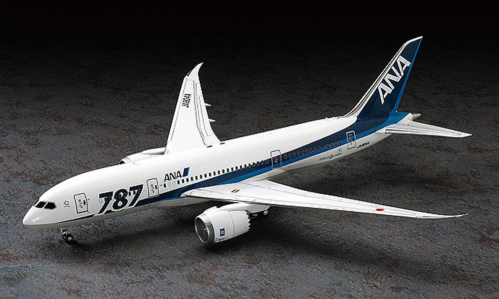 ANA ボーイング 787-8プラモデル(ハセガワ1/200 飛行機シリーズNo.016)商品画像_2