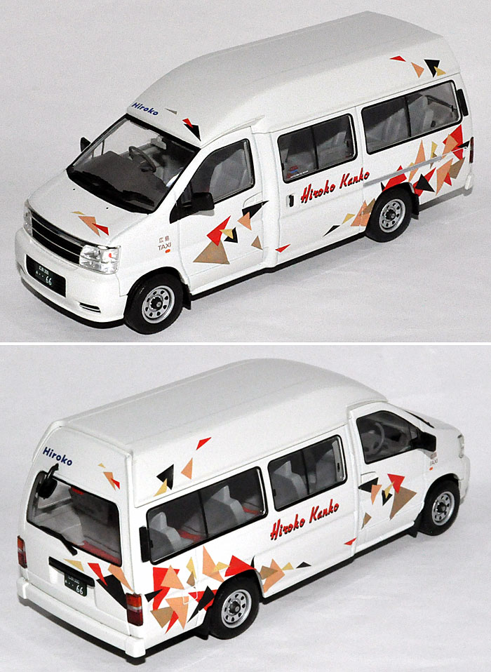 日産 エルグランド ジャンボタクシー (広交タクシー)ミニカー(トミーテックトミカリミテッド ヴィンテージ ネオ 43No.LV-N043-002b)商品画像_2