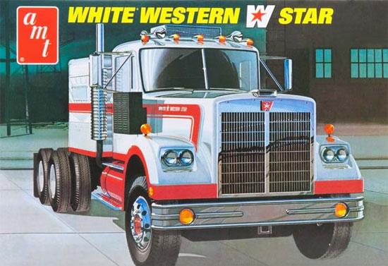 ホワイト ウエスタンスター セミ トラクタープラモデル(amt1/25 カーモデルNo.AMT724/06)商品画像